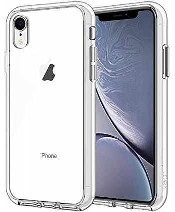 JETech Case for iPhone XR 6.1-Inch Shockproof Bumper Cover Clear