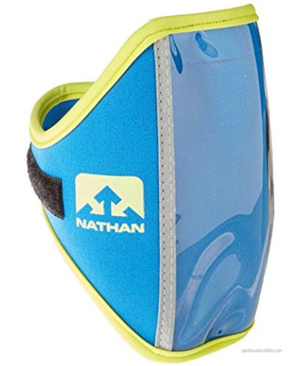 Nathan Running ArmBand Super 5K Universal Fitting. Perfect for Running Biking Hiking and more. iPhone Samsung Note Galaxy. Arm Band Phone Carrier.
