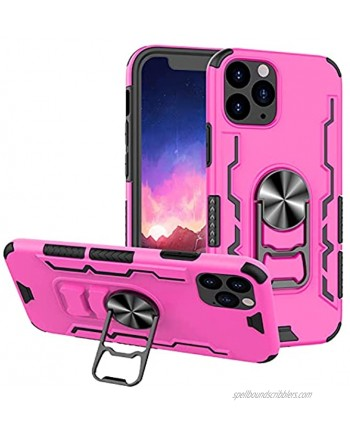 NACIEY for iPhone 12 Pro max Kickstand Case Car Magnetic with Rotatable Metal Ring Holder [Beer Bottle Cap Opener] Silicone TPU Protection Cover Shockproof Bumper PC Shell for iPhone 12 Pro max